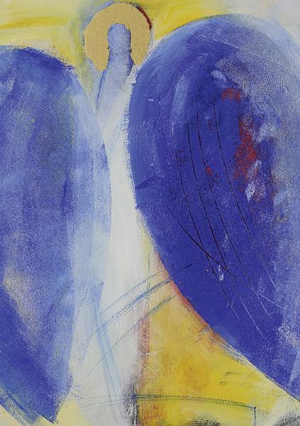 Kunst-Postkarte - Engel des Aufbruchs