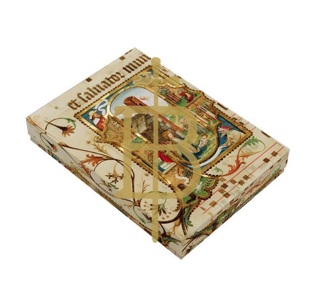 Premium-Kartenbox - Weihnachtlicher Glanz