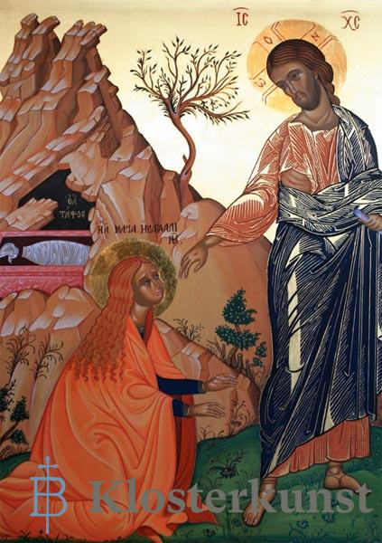 Kunstkarte - Der Auferstandene und Maria Magdalena
