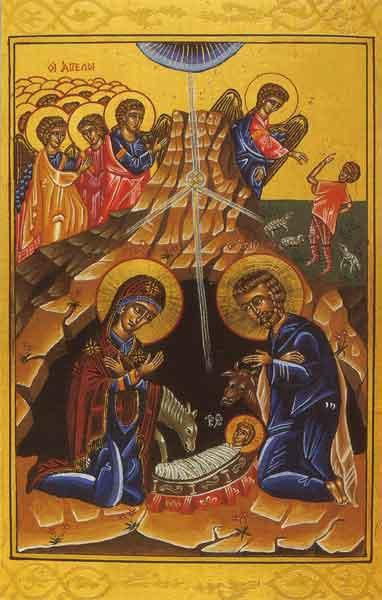 Bildchen - Geburt Christi