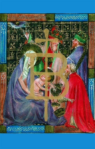 Bildchen - Anbetung der Könige
