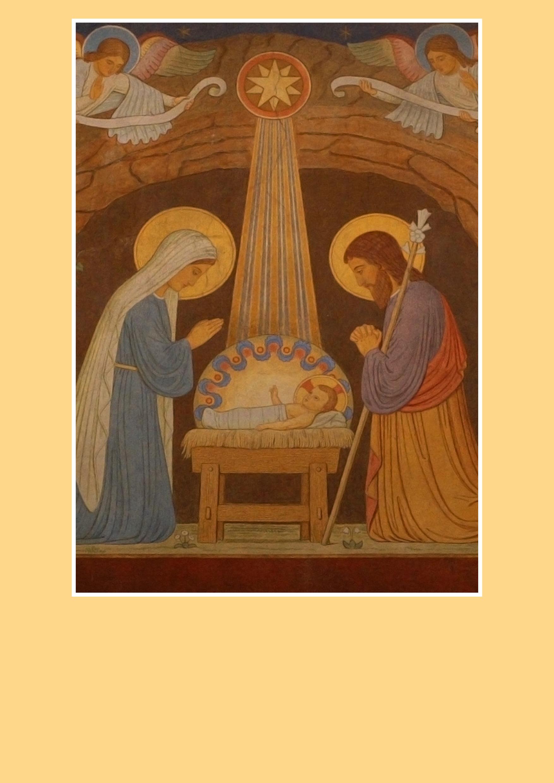 Pfarrbriefmantel - Menschwerdung Christi