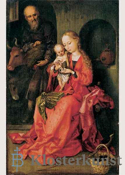 Kunstkarte - Die Heilige Familie