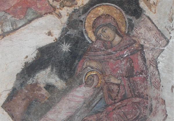 Klappkarte - Christi Geburt