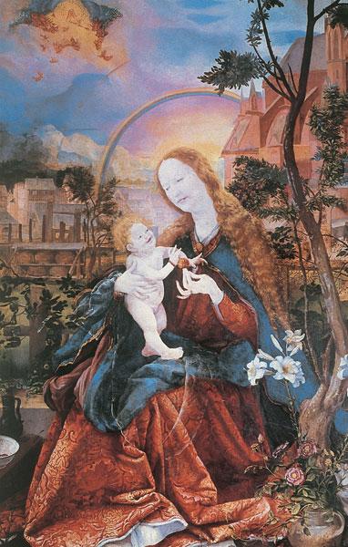 Bildchen - Die Stuppacher Madonna