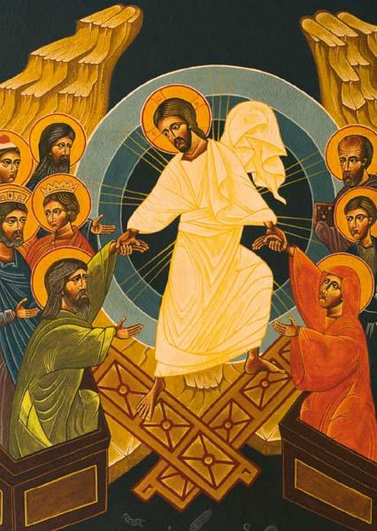 Kunstkarte - Auferstehung Christi
