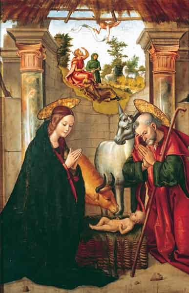 Bildchen - Die Geburt Christi