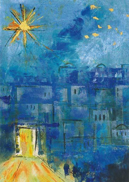 Premium-Kartenbox - Kostbares Betlehem