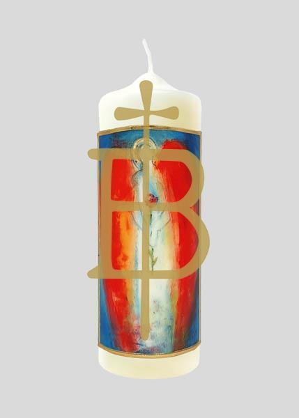 Kerze - Bote des Lebens