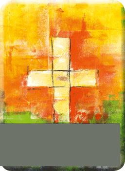 Deko Magnet - Leuchtendes Kreuz