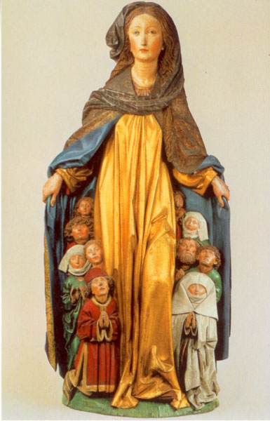 Bildchen - Ravensburger Schutzmantelmadonna