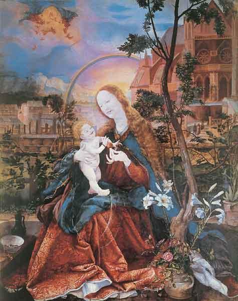 Kunstkarte - Die Stuppacher Madonna