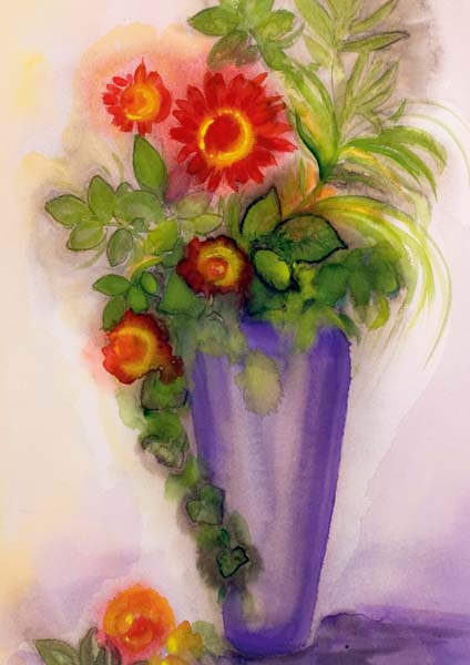 Kartenbox - Lasst Blumen sprechen