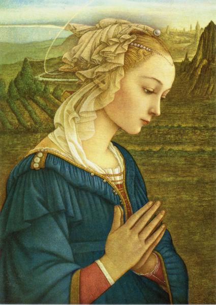 Kunstkarte - Madonna