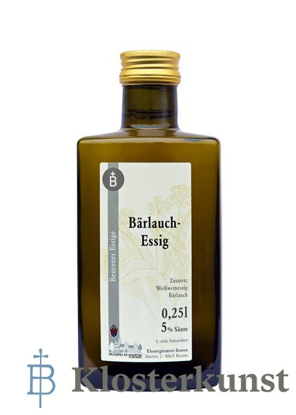Essig: Bärlauch-Essig