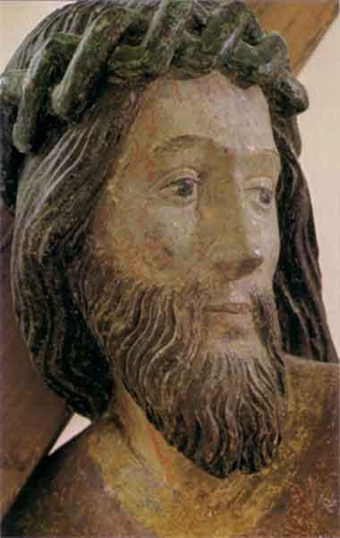 Bildchen - Kopf des Kreuztragenden