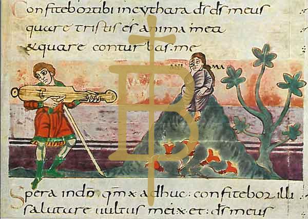 Kunstkarte - Bild zu Psalm 42