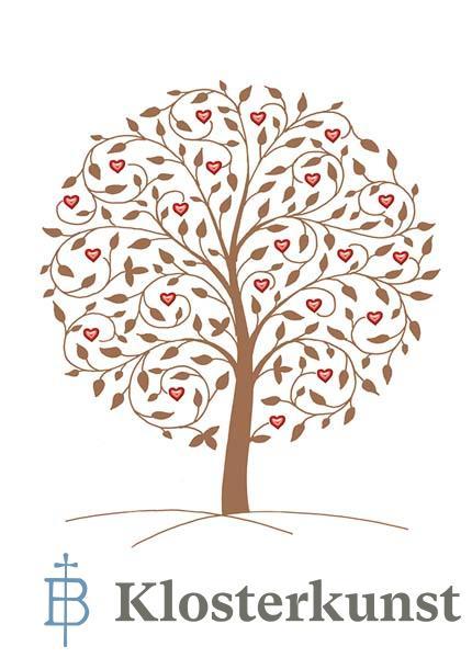 Premium-Kartenbox - Bäume - Symbole der Verbundenheit