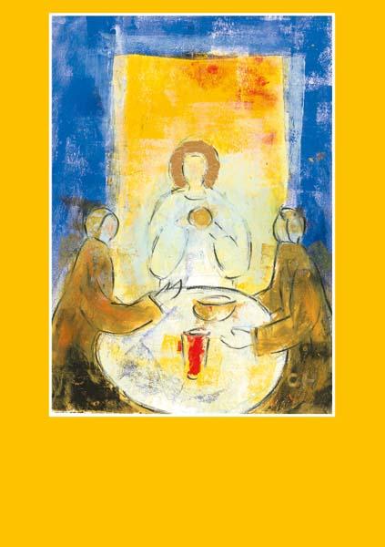 Pfarrbriefmantel - Mit ihm zu Tisch