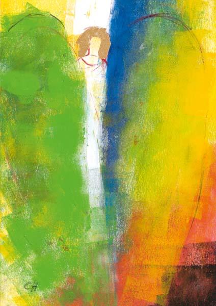 Klappkarte - Engel, der dein Leben erfüllt