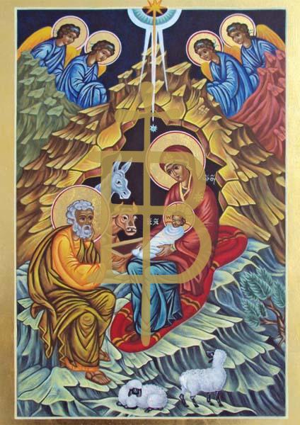 Kunstkarte - Christi Geburt