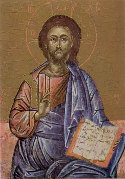 Kunstkarte - Christus-Ikone
