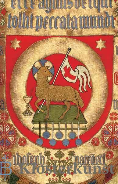 Klappkarte - Lamm Gottes
