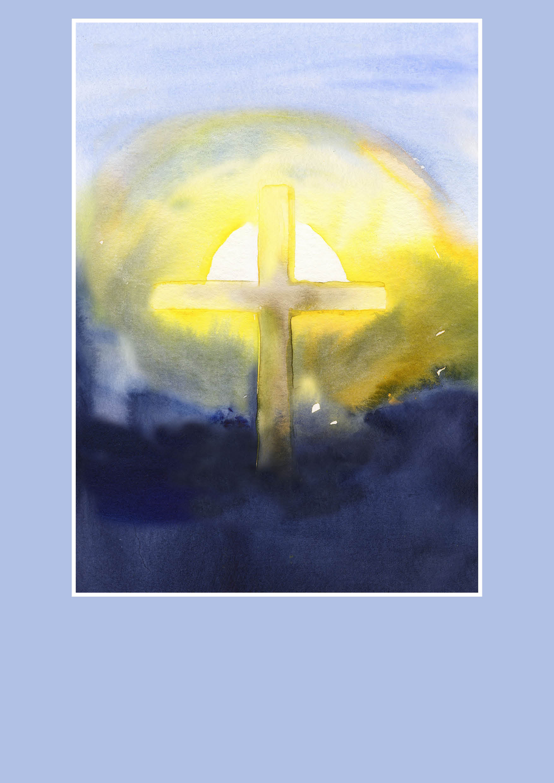 Pfarrbriefmantel - Auferstehungslicht