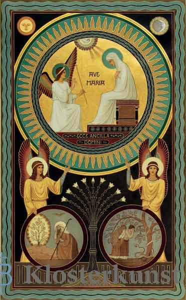 Kunstkarte - Verkündigung des Herrn