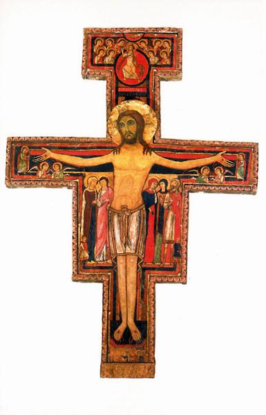 Bildchen - Kreuz aus San Damiano