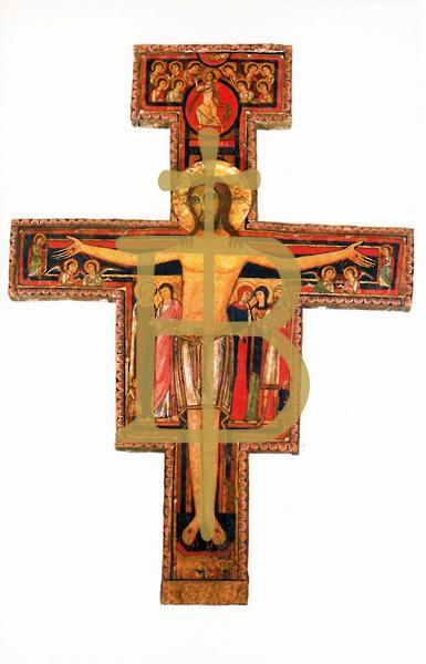 Bildchen - Franziskuskreuz