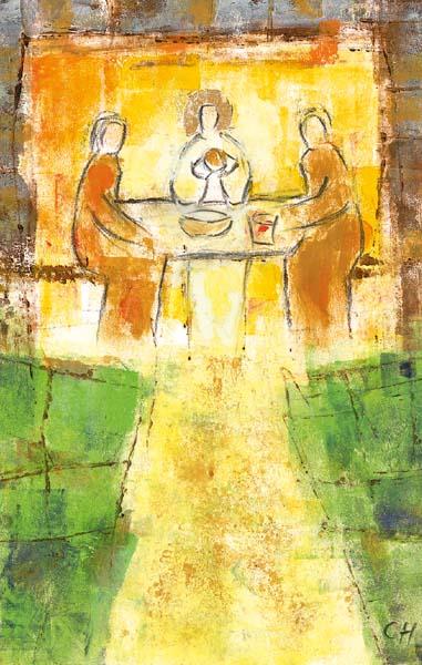 Bildchen - Im Brot vereint