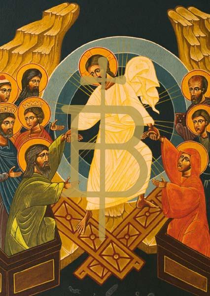 Klappkarte - Auferstehung Christi