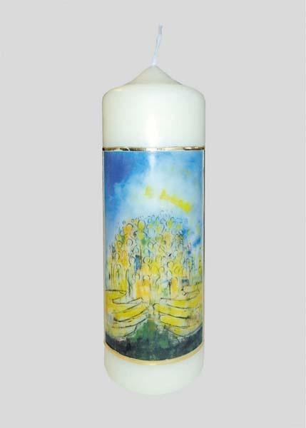 Kerze - Gott der Barmherzigkeit