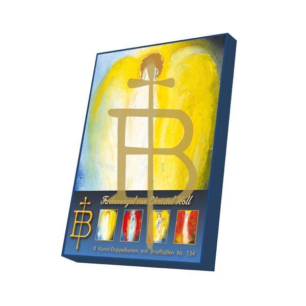Kartenbox - Farbenengel von Christel Holl