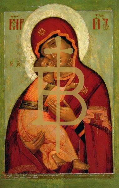 Bildchen - Die Wladimir-Madonna der Demut