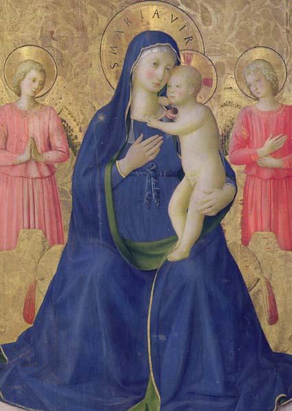 Kunstkarte - Die Jungfrau und das Kind