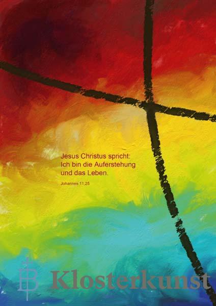 Klappkarte - Der Trost kennt viele Farben