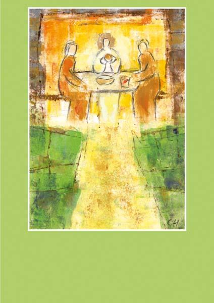 Pfarrbriefmantel - Im Brot vereint
