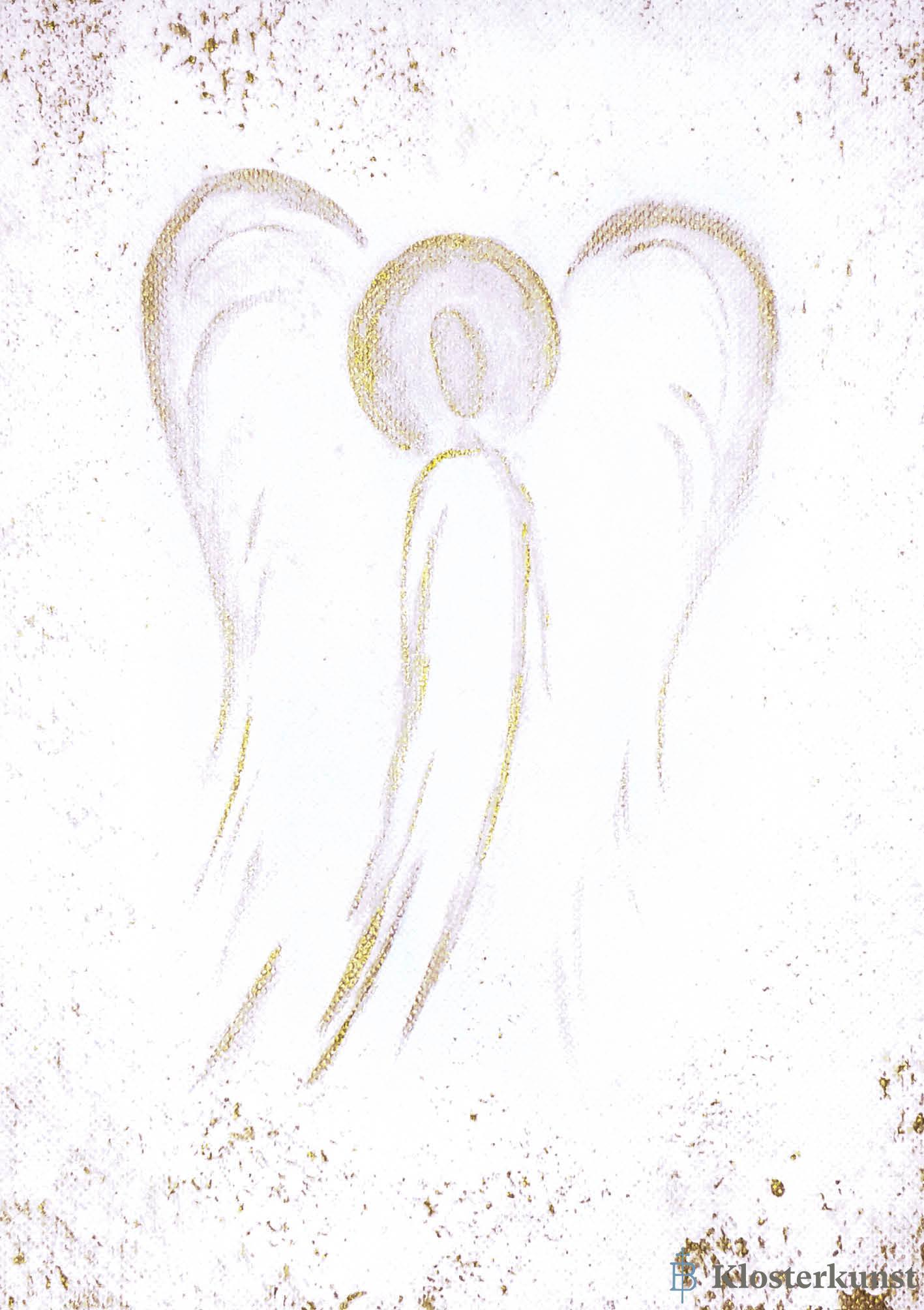Klappkarte - Ein Engel voller Leichtigkeit