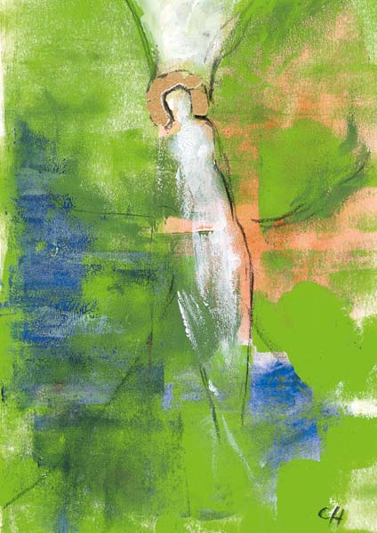 Klappkarte - Der Engel, der dich hoffen lässt