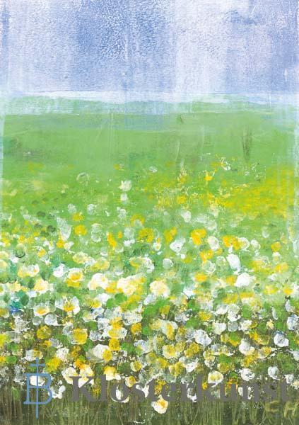 Kunstkarte - So viele Blumen - so viele Jahre
