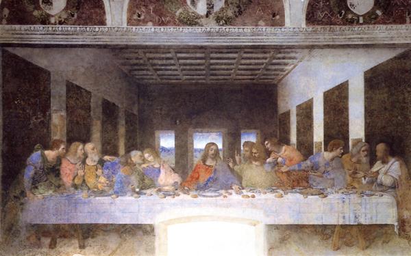 Bildchen - Das letzte Abendmahl
