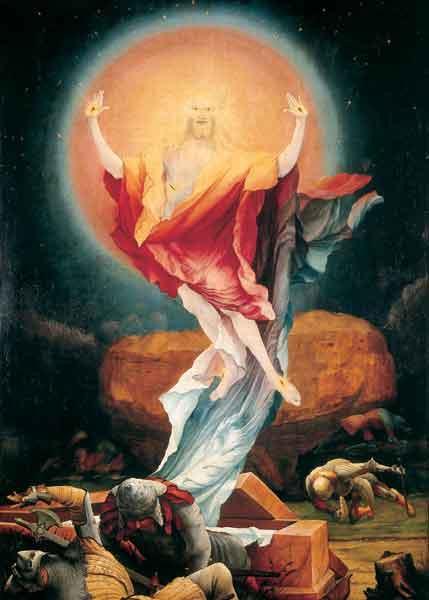 Klappkarte - Auferstehung