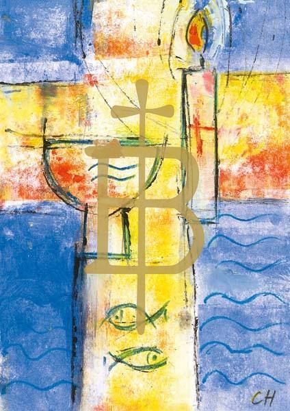 Klappkarte - Getauft auf seinen Namen