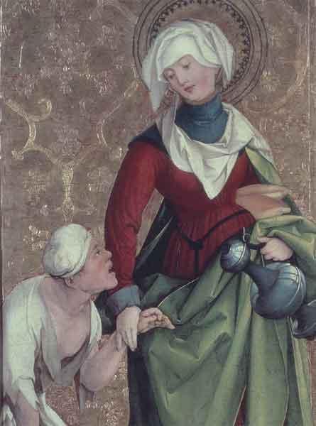 Bildchen - Hl. Elisabeth von Thüringen