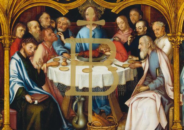 Kunstkarte - Abendmahl