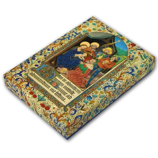 Premium-Kartenbox - Festliche Weihnacht