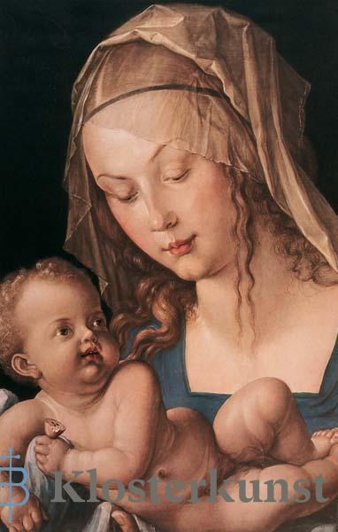 Bildchen - Maria mit Kind