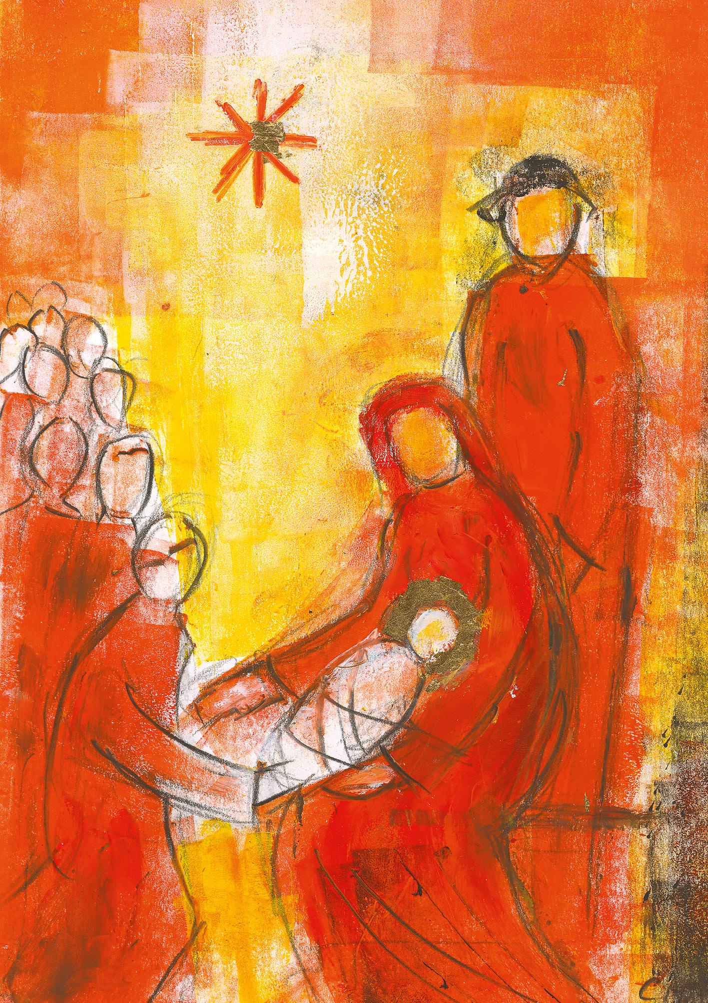 Klappkarte - Gottes großes Geschenk